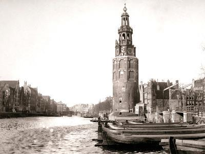 The Montelbaanstoren, Amsterdam, 1898-James Batkin-Photographic Print