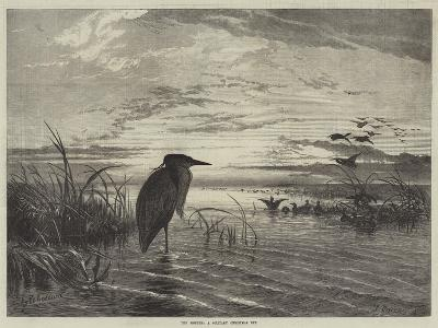 The Months, a Solitary Christmas Eve-George Bouverie Goddard-Giclee Print