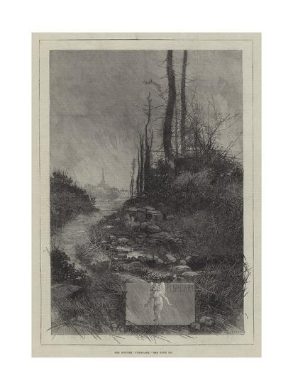 The Months, February-Charles Auguste Loye-Giclee Print
