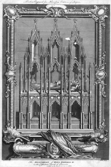 The Monument of King Edward II, in the Cathedral Church of Gloucester, 1787- Goldar-Giclee Print