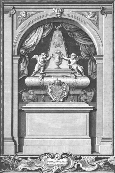 'The Monument of King James II. Erected in...Paris in the year 1703.', c1753-Unknown-Giclee Print