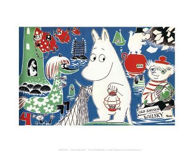The Moomins Comic Cover 4-Tove Jansson-Art Print
