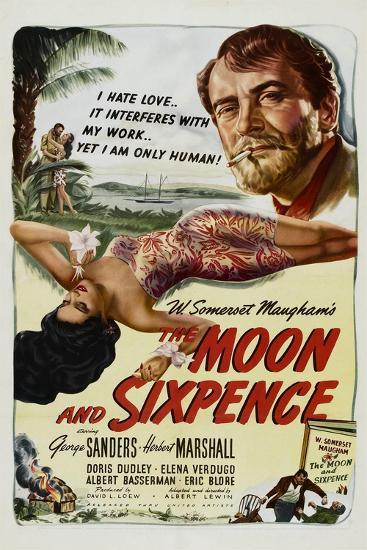 The Moon and Sixpence, Elena Verdugo, George Sanders, 1942--Art Print