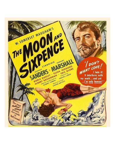 The Moon and Sixpence, Elena Verdugo, George Sanders on Window Card, 1942--Photo