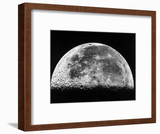 The Moon-Stocktrek Images-Framed Photographic Print