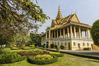 The Moonlight Pavilion, Royal Palace, in the Capital City of Phnom Penh, Cambodia, Indochina-Michael Nolan-Photographic Print