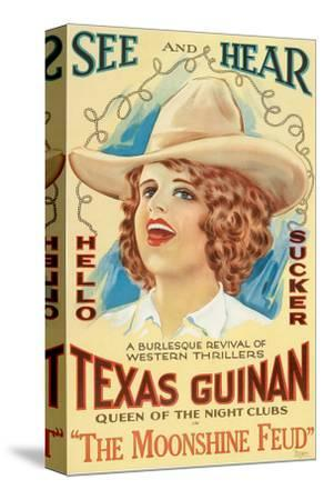 The Moonshine Feud, Texas Guinan, 1920