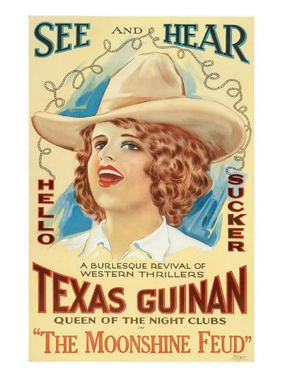 The Moonshine Feud, Texas Guinan, 1920--Photo