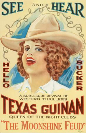 The Moonshine Feud, Texas Guinan, 1920