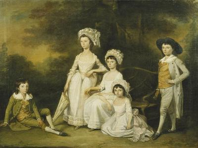 The Mordaunt Family-Lewis Vaslet-Giclee Print