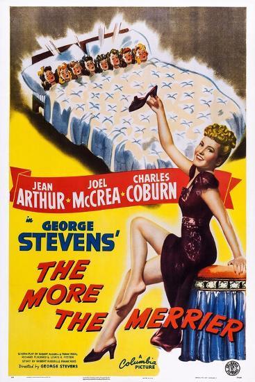 The More the Merrier, Jean Arthur, 1943--Art Print
