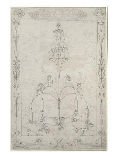 The Morning, 1803-Philipp Otto Runge-Giclee Print