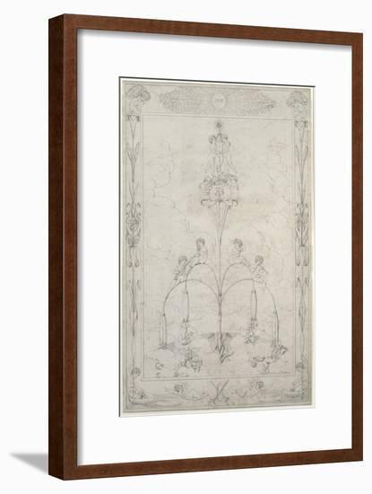 The Morning, 1803-Philipp Otto Runge-Framed Giclee Print