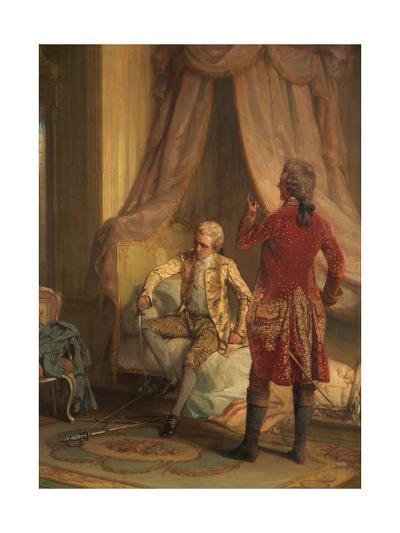The Morning of the Duel-Talbot Hughes-Giclee Print