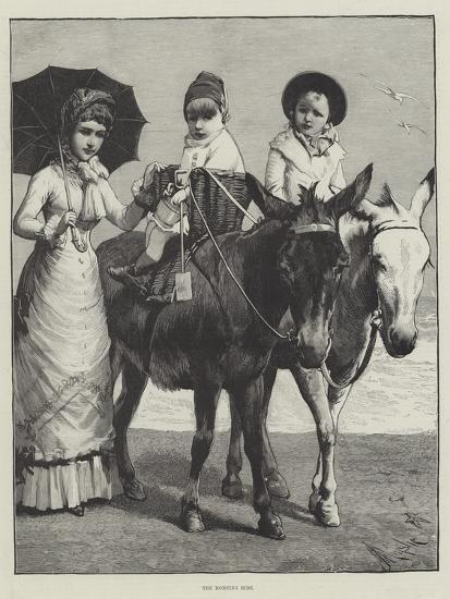 The Morning Ride--Giclee Print