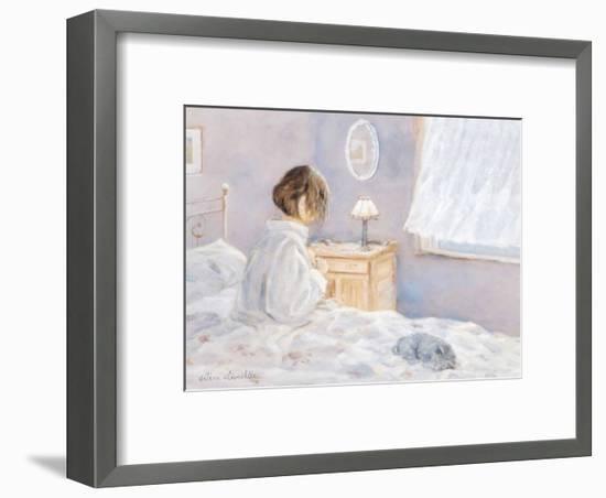 The Morning Ritual-H?l?ne L?veill?e-Framed Art Print