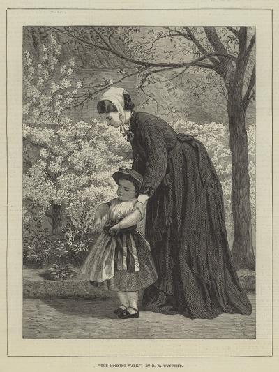 The Morning Walk-David Wilkie Wynfield-Giclee Print