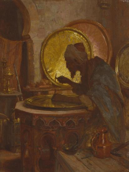 The Moroccan Engraver-Gordon Coutts-Giclee Print