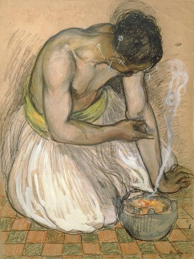 The Moroccan Fakir-Andre Sureda-Giclee Print