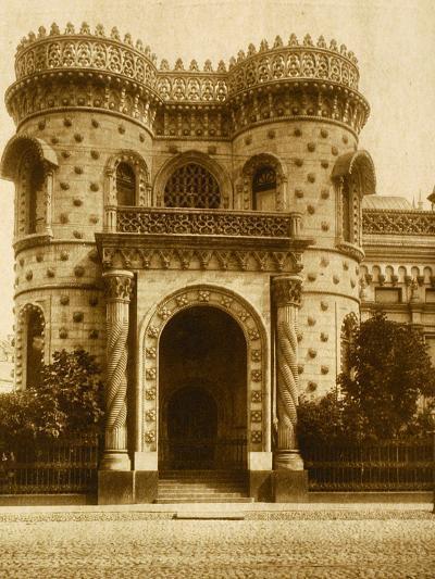 The Morozov House at Vozdvizhenka, Moscow--Photographic Print