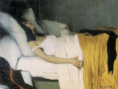 The Morphine-Santiago Rusinol-Art Print