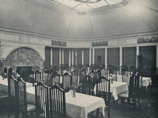 'The Morris Room at the Clarion Café, Manchester', c1911-Unknown-Photographic Print