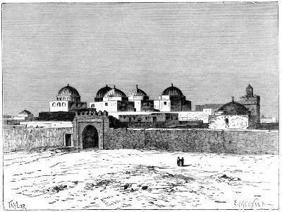 The Mosque of the Swords, Kairwan, C1890- Meunier-Giclee Print