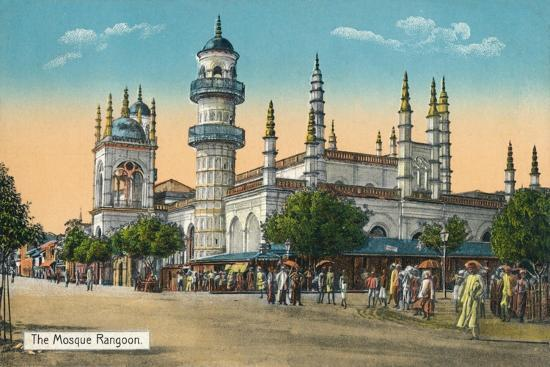 'The Mosque Rangoon', c1888-Unknown-Giclee Print