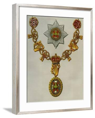 The Most Illustrious Order of St Patrick, 1941--Framed Giclee Print