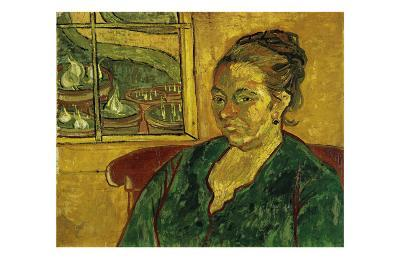 The Mother, Augustine Roulin-Vincent van Gogh-Art Print
