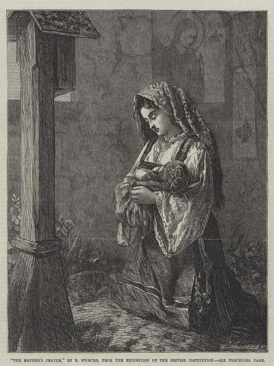 The Mother's Prayer-Francis John Wyburd-Giclee Print