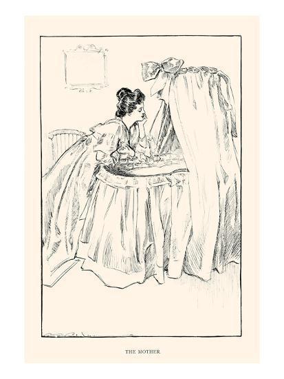 The Mother-Charles Dana Gibson-Art Print