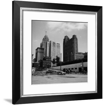 The Motor City-Carl Purcell-Framed Photographic Print