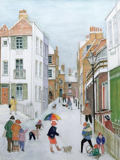 The Mount, Hampstead, 1990-Gillian Lawson-Giclee Print