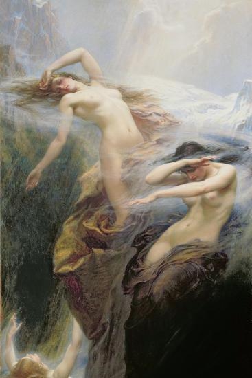 The Mountain Mists Or, Clyties of the Mist, 1912-Herbert James Draper-Giclee Print