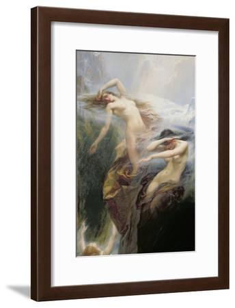 The Mountain Mists Or, Clyties of the Mist, 1912-Herbert James Draper-Framed Giclee Print