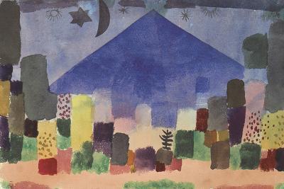 The Mountain Niesen, Egyptian Night-Paul Klee-Giclee Print