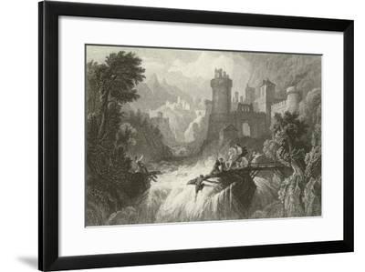 The Mountain Torrent-William Purser-Framed Giclee Print