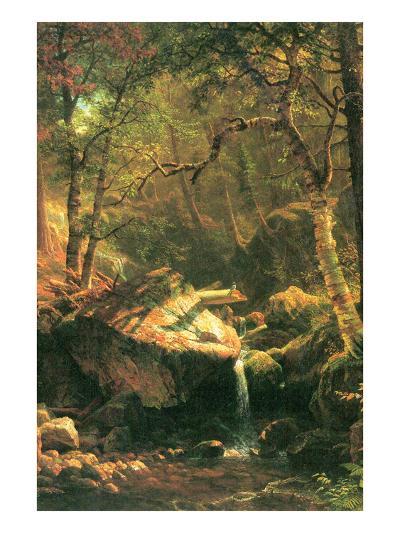 The Mountain-Albert Bierstadt-Art Print