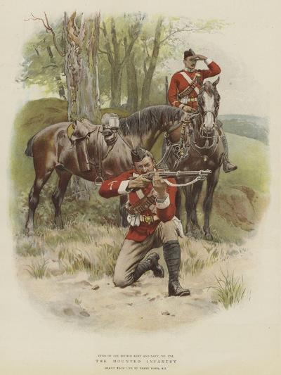 The Mounted Infantry-Frank Dadd-Giclee Print