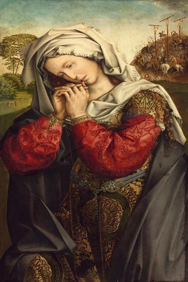 The Mourning Mary Magdalene, C. 1500-Colijn de Coter-Giclee Print