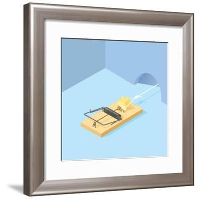 The Mousetrap-Nick Diggory-Framed Giclee Print