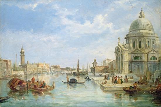 The Mouth of the Grand Canal, Venice, with Santa Maria Della Salute-Egidio Coppola-Giclee Print