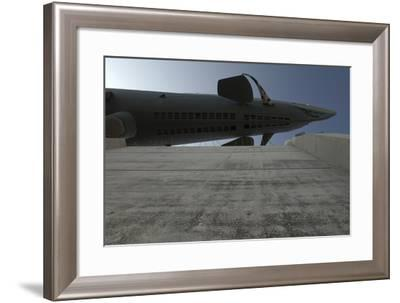 The Move of the Captured German Submarine U505--Framed Photographic Print