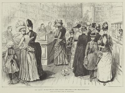 The Mudie'S of Melbourne, Mr Samuel Mullen's Circulating Library, Collins-Street East-Melton Prior-Giclee Print