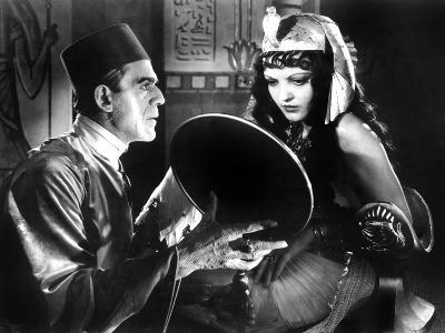 The Mummy, Boris Karloff, Zita Johann, 1932--Photo
