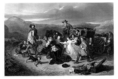 The Murder of Archbishop Sharpe, 1860-K Bourne-Giclee Print