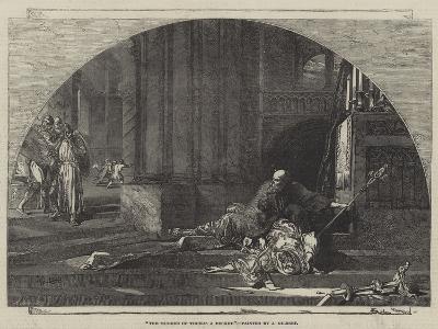 The Murder of Thomas a Becket-Sir John Gilbert-Giclee Print