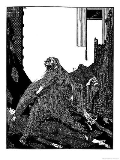 The Murders in the Rue Morgue-Harry Clarke-Giclee Print