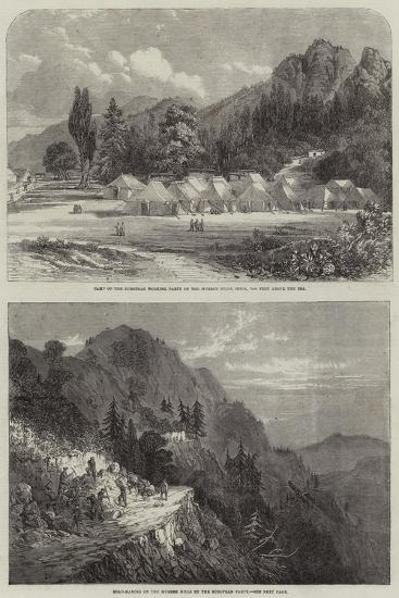 The Murree Hills in India--Giclee Print